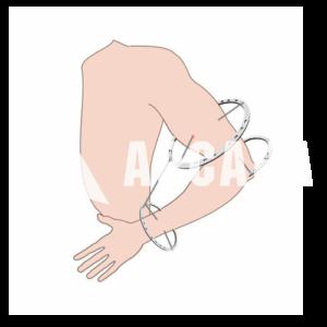 Чехол на плечо + предплечье