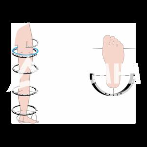 Чехол на ногу (Бедро, голень, стопа)